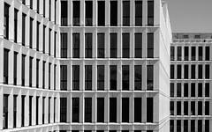 Architecture (ARTUS8) Tags: minimalismus nikon24120mmf40 swo2farbig fassade fenster muster flickr modernearchitektur nikond800 pattern facade blackwhite schwarzweis