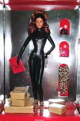 2010 Christian Louboutin Cat Burglar Barbie (2) (Paul BarbieTemptation) Tags: 2010 barbie by christian louboutin cat burglar catsuit gold label designer