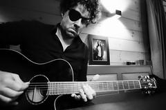 Tribute to Chris Cornell (a.kammhuber) Tags: chriscornell blues rock guitar yamaha western soundgarden audioslave strings bw masterclass portrait music cabin