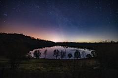 Totenmaar (clemensgilles) Tags: longexposure nightphotography nachthimmel astrophotography astrofotographie astrophotographers mirrors mirror beautiful stargazing starlight deutschland eifel germany