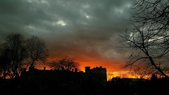 Troubled Sky Over York - 2019-03-26 (BillyGoat75) Tags: sunset sky clouds york northyorkshire
