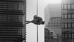(dimitryroulland) Tags: nikon d750 85mm 18 dimitryroulland pole dance poledancer dancer black white natural light bordeaux france poledance performer art artist buildings city urban
