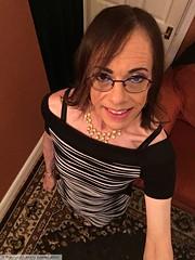 November 2018 (Girly Emily) Tags: crossdresser cd tv tvchix trans transvestite transsexual tgirl tgirls convincing feminine girly cute pretty sexy transgender boytogirl mtf maletofemale xdresser gurl glasses dress hull highheels hosiery tights hose stilettos smile