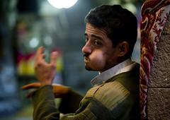 Man Chewing Qat, Sanaa, Yemen (Eric Lafforgue) Tags: addiction alkaloidcathinone arabia arabiafelix arabianpeninsula buying cathaedulis cathaeludis chew chewing clothes colourpicture drug horizontal kat khat leaves man night nightshot oldcity oneperson qaat qat realpeople sana sanaa selling shopping unescoworldheritagesite wall yemen yemeni mg5892