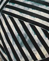 Ode to B. Geuse (whatsayjk) Tags: lines stripes beetlejuice art pattern texture distressed minimal kansascity kcmo kc downtown