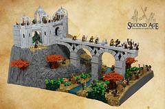 Siege of Ost-in-Edhil (norlego) Tags: lego legomoc legotolkien secondage tolkien eregion legoeregion legosecondage celebrimbor elrond ostinedhil