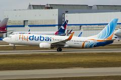 A6-FEC flydubai Boeing 737-800 (Nathan_Ivanov) Tags: airplane aircraft vko vnukovo uuww spotting boeing boeing737 flydubai