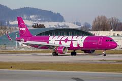 WOW Air - Airbus A321-211/S TF-WIN @ Salzburg (Shaun Grist) Tags: tfwin wow airbus a321 shaungrist szg lows salzburg wamozart austria airport aircraft aviation aeroplanes airline avgeek