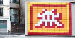 Space invader [Paris 14e] (biphop) Tags: europe france paris streetart space invader spaceinvader mur wall installation mosaic mosaique 75014 pa1349
