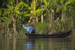 Fishermen - Saluen River (Captures.ch) Tags: clear klar day abend evening tag hpaan saleun birma myanmar burma wasser water tree sky river landschaft landscape himmel gras forest baum aufnahme capture