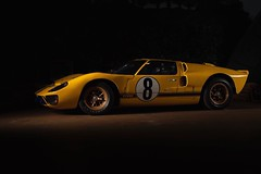 1966 Ford GT40 MkII (vangeh) Tags: car vintage lowkey lemans racecar chiaroscuro a7r3 strobist automotive motorsport