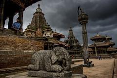 "Durbar Square, Patan, Nepal (El-Branden Brazil) Tags: nepal hinduism buddhism patan temples ""south asia"" asia"