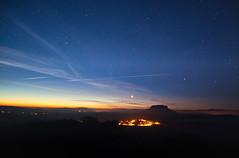 Sternenlichter über der saechsischen Schweiz (lebastian) Tags: panasonic dmcgx8 laowa7 5 sächsische schweiz landschaft landscape nacht nachthimmel sky himmel sterne