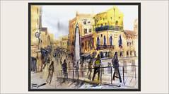 VENECIA-PINTURA-ARTE-PAISAJES-CIUDAD-PUENTE-OBELISCO-GENTE-MOVIMIENTO-PINTURAS-ITALIA-CUADROS-ARTISTA-PINTOR-ERNEST DESCALS (Ernest Descals) Tags: venecia venezia venice italia italy ciudad city europa ciudades paisaje paisajes venecianos pintura pinturas pintures venecianas veneszia cuadros quadres obelisco landscape landscaping urban urbano people gente personas movimiento movement casas canal canales puente bridge paisatges pintar pintando pintado painting paintings painter pintores pintor pintors art arte artwork pictures paint plasticos plastica plastico arquitectura veneciana ernestdescals monumentos historicos historia monuments historical history acuarelas gouache obras lugares artistas artist calles