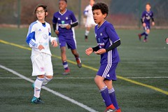 Season 2018-2019: Friendly RSC Anderlecht U12 - Luxembourg U13B