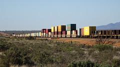 0407 Güterzug vor - freight trains north of; Port Augusta (roving_spirits) Tags: australia australien australie southaustralia