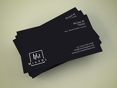 Business Card (pixel_unique) Tags: black simple easy awesome new outstanding businesscard clean colorful colour colourful corporate creative design elegant green mono namecard pattern print printready professional stylish template unique white