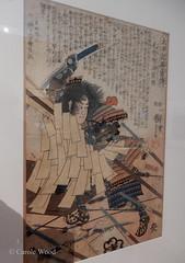 Carcassonne - Musée des Beaux-Arts (Fontaines de Rome) Tags: aude carcassonne musée beaux arts exposition samouraï art symbolisme japon estampe utagava kuniyoshi japan samurai 日本 美術 侍 象徴主義
