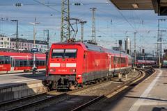 101 139-4 DB Regio Nürnberg Hbf 31.01.19 (Paul David Smith (Widnes Road)) Tags: 1011394 db regio nürnberg hbf 310119 br101 nuremberg