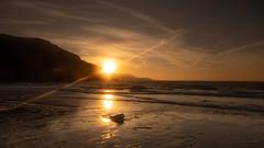 Illumination (jillyspoon) Tags: sunrise coast coastal scotland scotlandssecret southwestscotland monreith morning stmedans beach sony sonya7iii wintersun reflections reflected sun illuminated illumination emptybeach solitude flare sigmamcii