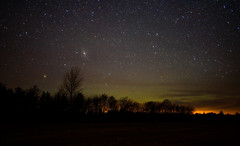 Aurora with andromeda galaxy right there (Carl Terlak) Tags: