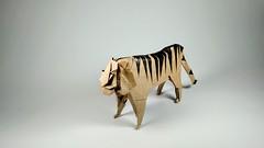 lion (guangxu233) Tags: art paper fold paperart paperfolding handmade animals lion hideokomatsu origami origamiart 折纸 摺紙 折り紙 折り紙作品