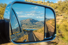 The Road is Life (BoneFishPhotography) Tags: arizona az desert sonorandesert lake tontonationalforest mountains water americansouthwest sw usa america road roadtrip adventure travel ram truck diesel mirror reflection rearview scenery scene scenic scenicview clouds afternoon drive window sky nature outdoors explore wild wildwest free cactus nationalforest usnfs arizonahighways amazing beautiful bonefishphotography depthoffield dof itsamazingoutthere nikon neverstopexploring outside photography phoenix phx rural reflections thenatureconservancy unitedstates view vista winter