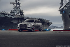 Audi Q7 Samurai Gray for XO Luxury Wheels (Richard.Le) Tags: samurai gray audi q7 sq7 xo luxury wheels forged san francisco california automotive commercial photography sony a7rii profoto usa b1 b1x battleships flick car photo photoshop air remote explore suv bay area richard le cloudy moody