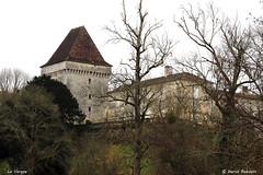 24 St-Sulpice-de-Mareuil - La Vergne (Herve_R 03) Tags: architecture castle château dordogne france aquitaine