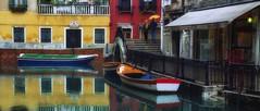 rainy day (try...error) Tags: venise venedig venezia italy red urban yellow gelb rot sea rain regen street film