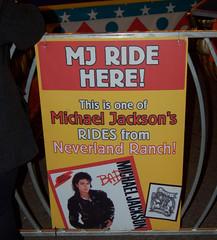 Neverland Ranch Ride (earthdog) Tags: 2010 sign word text ride amusementride christmasinthepark sanjose michaeljackson nikond50 nikon d50 1855mmf3556