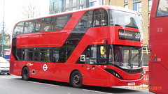 P1150205 2540 YX19 ORP at Walthamstow Central Station Selborne Road Walthamstow London (LJ61 GXN (was LK60 HPJ)) Tags: hackneycommunitytransportgroup ctplus alexanderdennistrident2hybrid enviro400hybrid enviro400hhybrid enviro400h enviro400hybridcity enviro400hhybridcity enviro400hcity e400h city 105m 10500 10500mm 2540 yx19orp j4352