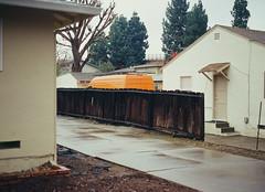 Sunnyvale, California (bior) Tags: pentax645nii pentax645 6x45cm slidefilm mediumformat 120 sunnyvale california suburbs residential ektachrome kodakektachrome e100vs ektachrome100vs expiredfilm house van fence driveway