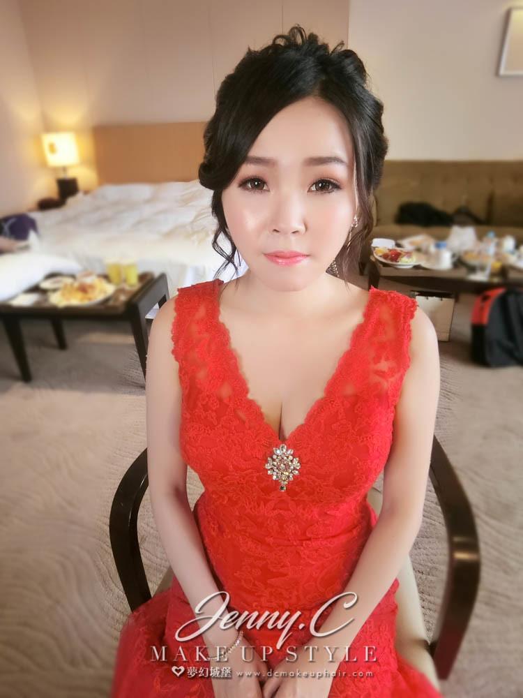 【新秘蓁妮】bride惠妮 訂結婚造型 / 新竹國賓大飯店