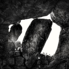 Window (Mike Bonitz) Tags: deutschland germany sachsenanhalt saxonyanhalt blankenburg regenstein festung burg castle fenster window felsen rock architektur architecture bw instagram huaweip20 harz harzmountains