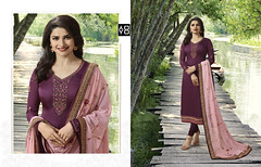 Purple and Pink Designer #StraightSalwarSuit Online On #YOYOFashion. (yoyo_fashion) Tags: style fashion dresses suits shopping offers womenwear eidspecialdress pinksalwarsuit designerdress look lookbook womenwearsuit