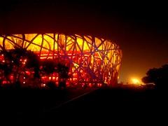 Beijing olympic stadium (Ziad FMA) Tags: architecture beijing olympic travel china chinesearchitecture