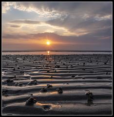 98/365 Beautiful sunset at Ayr beach tonight! (B Ryder) Tags: sony ilce6300 e pz 1650mm f3556 oss ayr ayrshire scotland sand sea clouds sunset