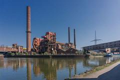 Walk along the Sambre VIII (jefvandenhoute) Tags: belgium belgië belgique charleroi river samber sambre industry industrialarcheology