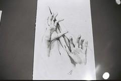 Concept Drawing (goodfella2459) Tags: nikonf4 afnikkor50mmf14dlens kodaktrix400 35mm blackandwhite film analog history sydney nationalmaritimemuseum titanic jamescameron jamescameronchallengingthedeep bwfp