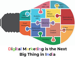 Digital Marketing is the Next Big Thing in India (Vision Upliftment Academy) Tags: digitalmarketing seo smo socialmedia entrepreneur startup learn new course class training certification google cybersecurity