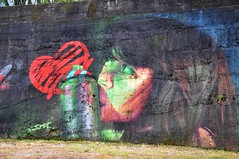Braga - street art (jaime.silva) Tags: braga portugal portugalia portugalsko portugália portugalija portugali portugale portugalsk portogallo portugalska portúgal portugāle painting paint spraypaint spray spraypainting muralpainting mural pinturamural streetart streetartist graffiti graf urban urbanart arteurbana smile smile1art