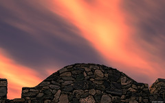 Scorpion Gulch, Arizona (Ken Mickel) Tags: arizona clouds cloudscape cloudy kenmickelphotography landscape longexposure longexposurephotography outdoors phoenix scorpiongulch sky southmountainpark architecture building buildings dilapidated oldbuilding photography unitedstatesofamerica us