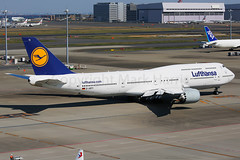 Lufthanas Boeing 747-8i D-ABYI (Mark Harris photography) Tags: spotting hnd japan lufthansa boeing 747 canon 5d aviation