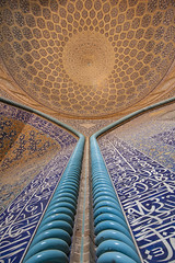 Sheikh Lotfollah Mosque (Robin Geys) Tags: iran nikon d90 persia sheikh lotfollah mosque isfahan tokina atx 1224mm f4