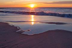 Cape May Morning (arlene sopranzetti) Tags: cape may nj sunrise morning winter sea beach sand ocean