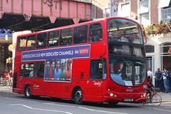 BX55 XMC, Waterloo Road, London, August 4th 2017 (Southsea_Matt) Tags: bx55xmc 9030 route172 abellio volvo b7tl wright eclipse gemini unitedkingdom england greaterlondon waterlooroad august 2017 summer canon 80d bus omnibus vehicle transport