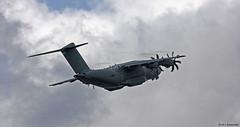 Royal Air Force Airbus Military A400M Atlas C1 ZM411 departing RAF Gibraltar/LXGB (Mosh70) Tags: gibraltar rafgibraltar raf rafbrizenorton royalairforce airbusmilitary a400matlasc1 zm411