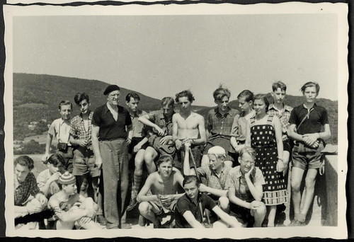 AlbumC213 Klassenfahrt, Landfermann-Gymnasium, 1952