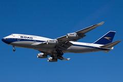 British Airways Boeing 747-400 G-BYGC (jbp274) Tags: lax klax airport airplanes britishairways ba boeing 747 retrojet